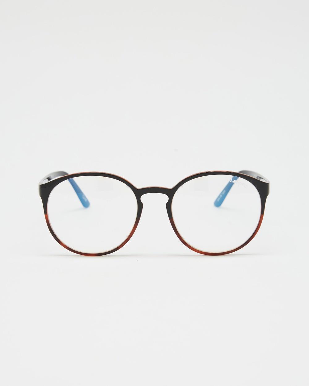 Le Specs Swizzle Blue Light Optical Black & Tort