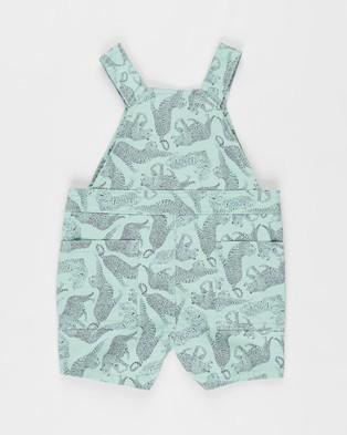 Cotton On Baby Ella Shortall   Babies - Sleeveless (Smashed Avo & Charlie Cheetah)