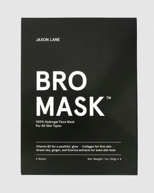 Jaxon Lane Bro Mask   Hydrating - Beauty (Black)