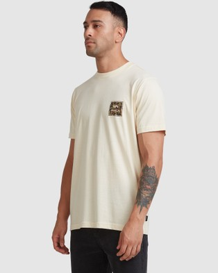 RVCA Va All The Ways Multi Tee - T-Shirts & Singlets (BLEACHED)