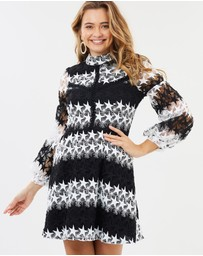 Honey and Beau - Harlee Balloon Sleeve Dress