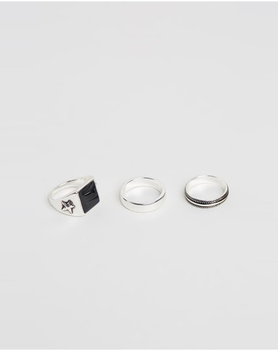 Locale - Signet Ring 3-Pack