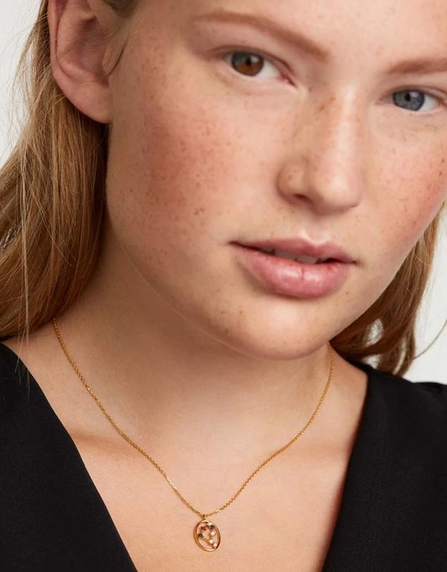 Women Capricorn Necklace