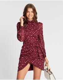 Atmos&Here - Izabelle Ruched Mini Dress