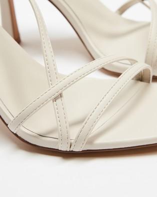 ALDO - Rendalith Strappy Heels - Heels (White) Rendalith Strappy Heels
