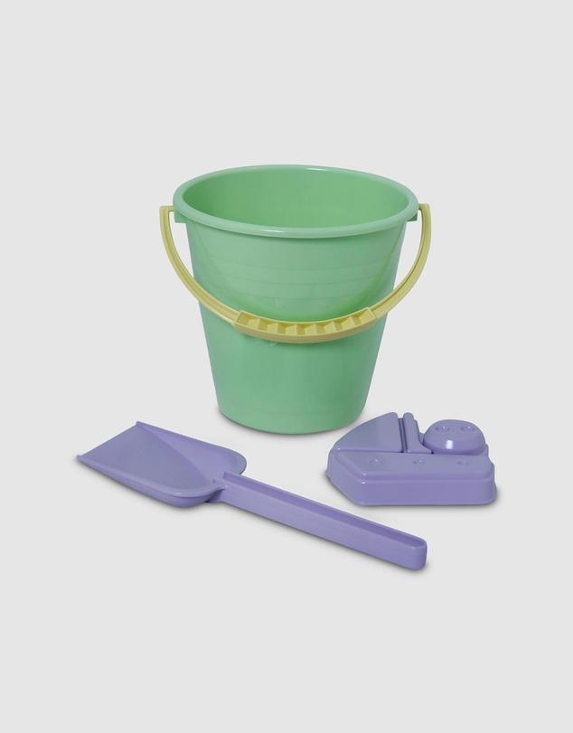 Kids I Am Green Bucket - 3-Piece Set - Kids