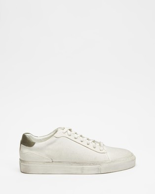 Locale Williamsburg Canvas Sneakers - Sneakers (Dirty White)