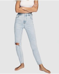 Cotton On - High-Rise Skinny Jeans