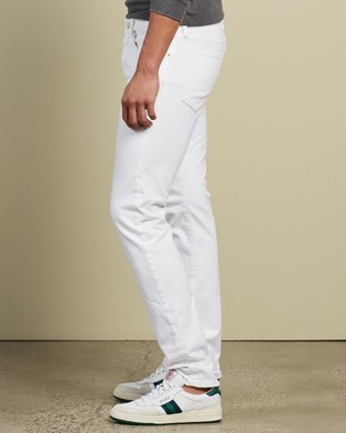 Polo Ralph Lauren Sullivan 5 Pocket Denim Jeans The ICONIC Exclusives Slim White Stretch 5-Pocket