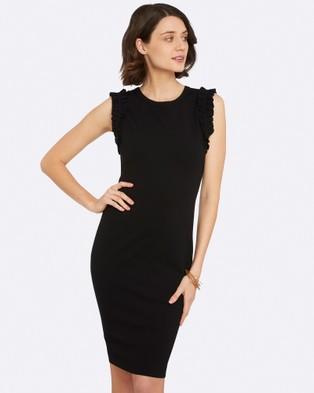 Oxford ana Ponti Dress – Bodycon Dresses Black