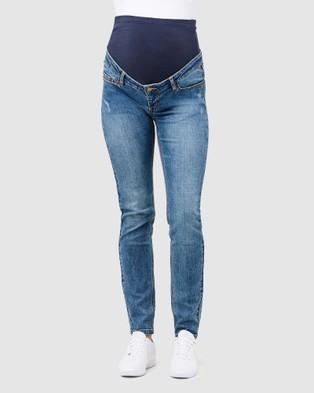Ripe Maternity Tyler Classic Slim Leg Jeans - Slim (Denim)