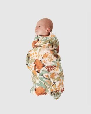 Banabae Wattle Wander Swaddle Blanket - Blankets (Multi)