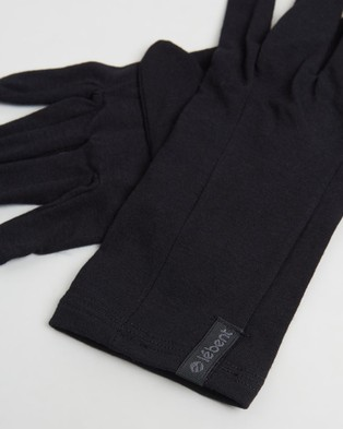 Le Bent Glove Liner 200 Lightweight - Scarves & Gloves (Black)