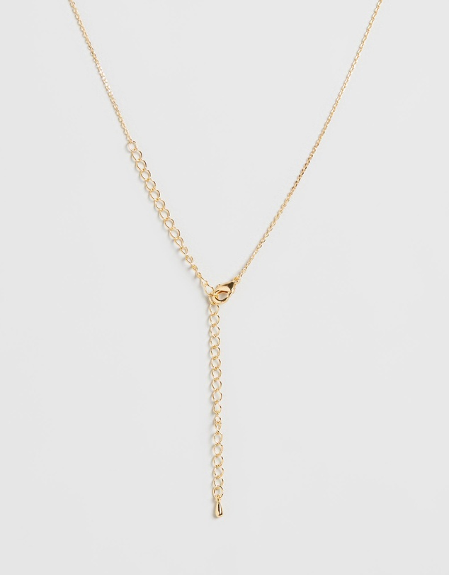 Women Letter Necklace - O