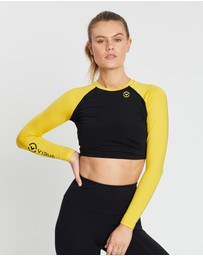 Virus - ECo45 CoolJade™ Widow Crop Rashguard