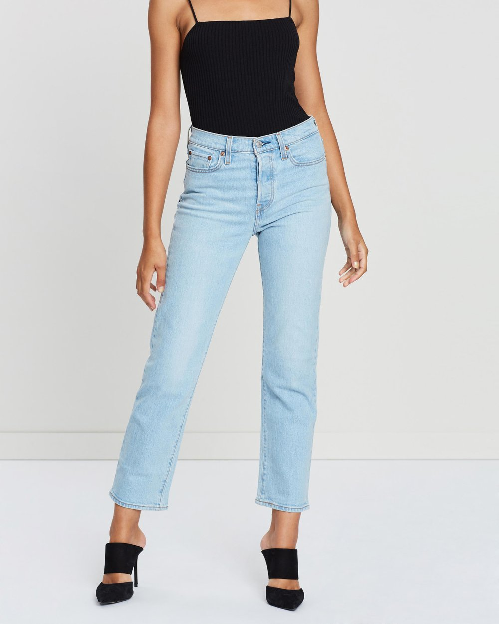 6a54c4b6 Wedgie Straight Jeans by Levi's Online | THE ICONIC | Australia