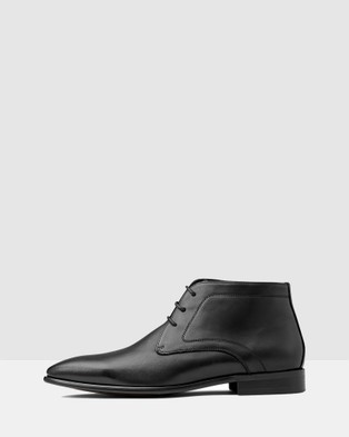 AQ by Aquila - Raydon Lace Up Boot Boots (Black)