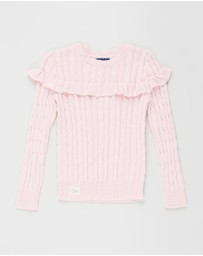 Polo Ralph Lauren - Combed Cotton Cable Sweater - Teens