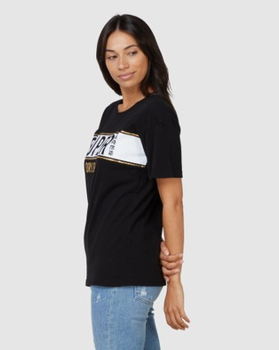 Superdry SDRY Panel Tee - T-Shirts (Black)