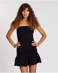 TOPSHOP - Bengaline Frill Mini Dress