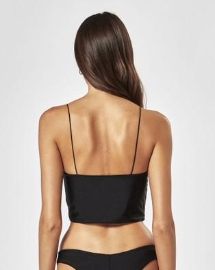 Charlie Holiday Montanna Top - Bikini Tops (Black)