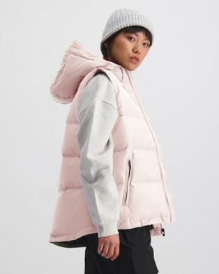 Huffer Women's Huffer Puffer Vest - Coats & Jackets (Pink)