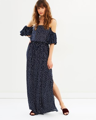 Faithfull – La Digue Maxi Dress Cosette Floral Print