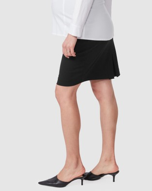 Pea in a Pod Maternity Emma Suiting Skirt - Pencil skirts (Black)