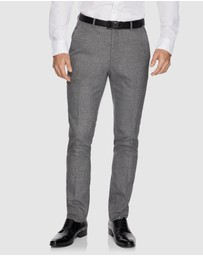 yd. - Cadillac Skinny Textured Dress Pants