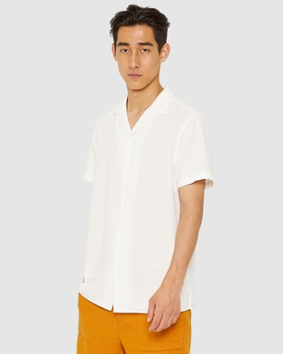 Jag The Short Sleeve Summer Shirt - Shirts & Polos (white)