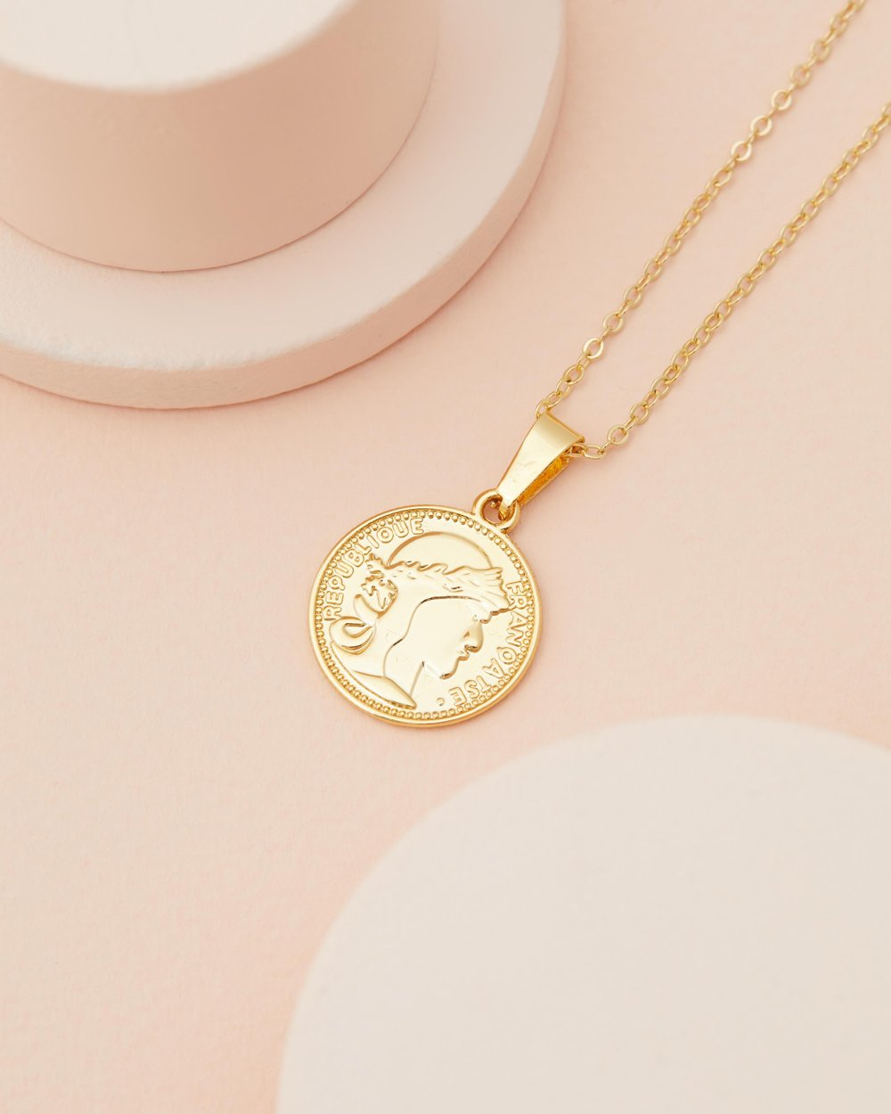 willow tree coin necklace gold golden jewelry of products