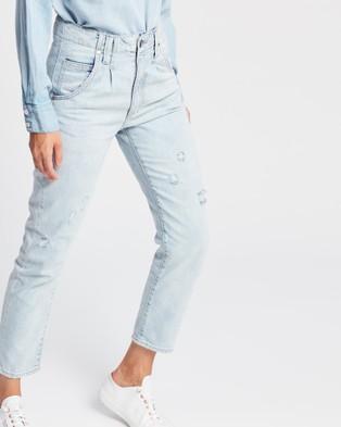 DRICOPER DENIM Drifter Straight Jeans Crop Sun Bleached