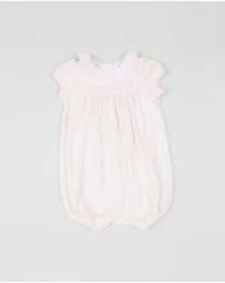 Polo Ralph Lauren - Ruffle Bubble One-Piece Shortall - Babies