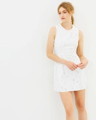 CAMILLA AND MARC – Benito Mini Dress Off White