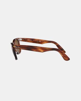 RaBan - Original Wayfarer Classic - Sunglasses (Light Tort & Brown)