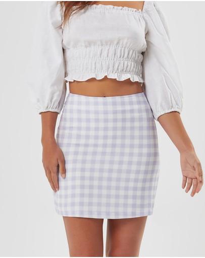 Charlie Holiday Genesis Skirt Lilac