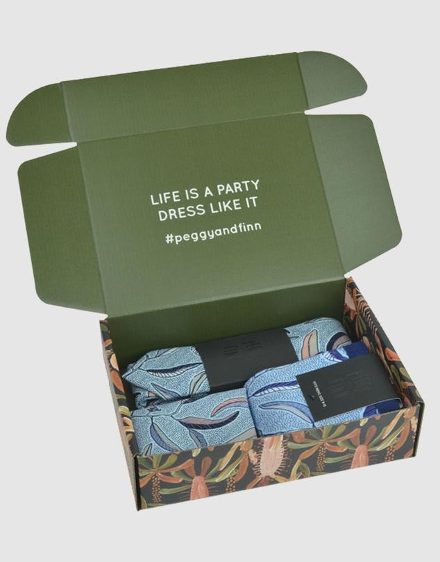 Men Eucalyptus Tie Box
