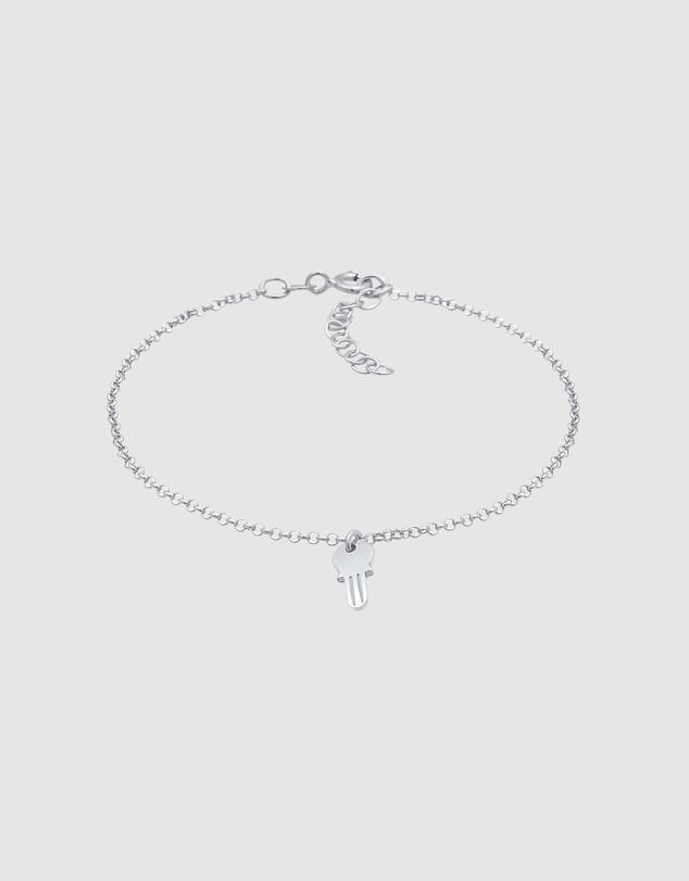 Women Bracelet Key Connection Love in 925 Sterling Silver