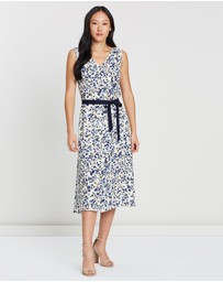 David Lawrence - Lowry Printed Dress