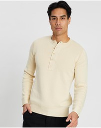 Kent and Curwen - Knitted Henley