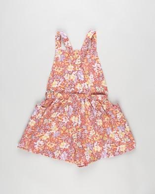 Cotton On Kids Tilly Playsuit   Kids - Jumpsuits & Playsuits (Vanilla & Coastal Floral)