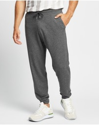 REISS - Jose Melange Drawstring Trousers