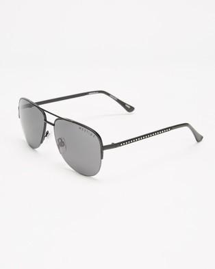 Mestige Wanderlust with Swarovski?« Crystals - Sunglasses (Black)