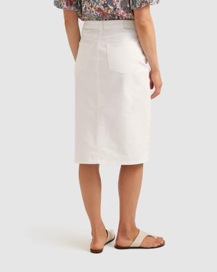 Sportscraft Dakoda Denim Skirt - Denim skirts (neutrals)