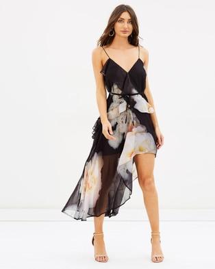 Talulah – Lucille Floral Midi Dress – Printed Dresses Big Floral Print