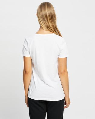 Bonds - Core Scoop Tee - T-Shirts & Singlets (White) Core Scoop Tee