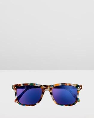 IZIPIZI Sun Collection L - Sunglasses (Blue Tortoise)