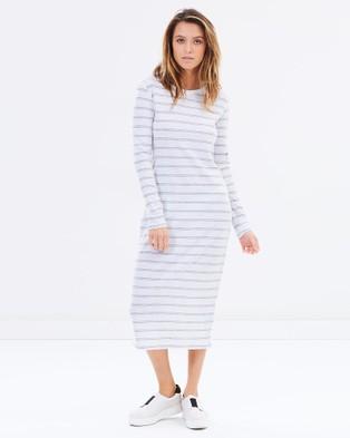 Rusty – Stolen Long Sleeve Dress – Dresses (Grey)