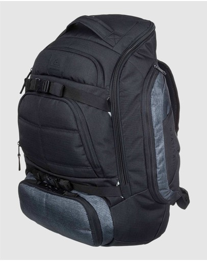 Quiksilver Fetch 45l Large Multi Use Surf Backpack Dark Grey Heather