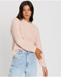 All About Eve - Flutter Crew Knit